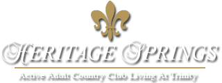 Heritage Springs – Active Adult Country Club Living at Trinity
